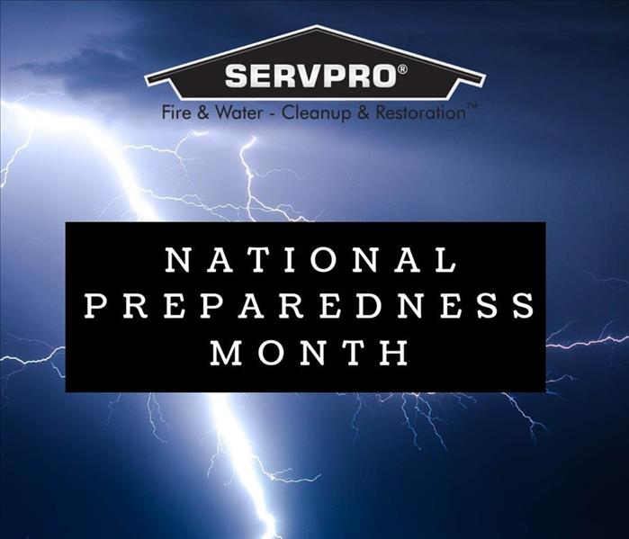 Water Damage National Preparedness Month - Tips