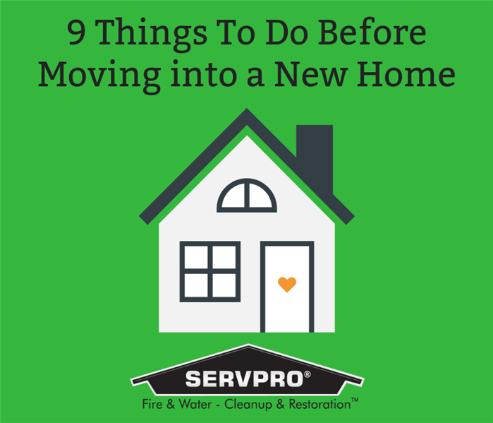 Water Damage 9 Moving Tips for Your New Home