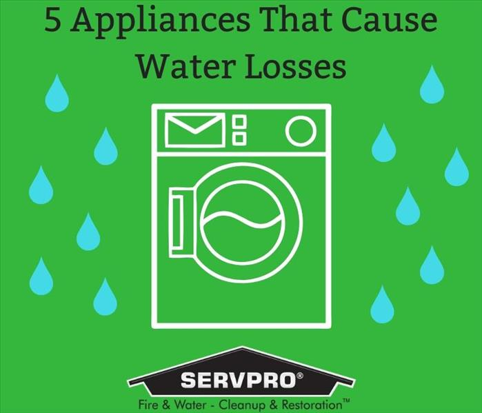 Water Damage 5 Appliances That Could Cause A Water Loss