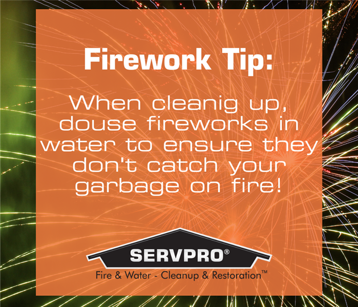 Water Damage 4th of July - Fire Safety 101!